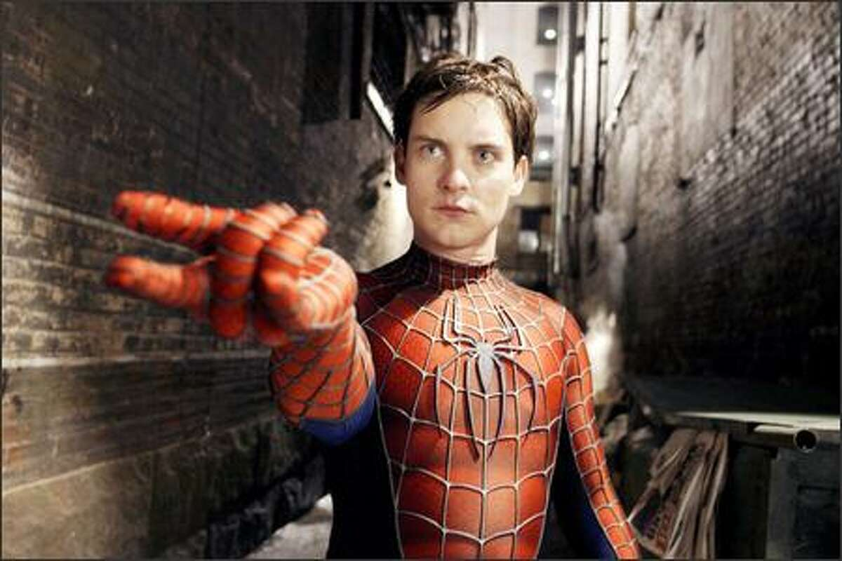 Peter Parker (Tobey Maguire) struggles with his own inner demons in