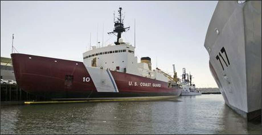 New Coast Guard polar icebreakers will be based in Seattle