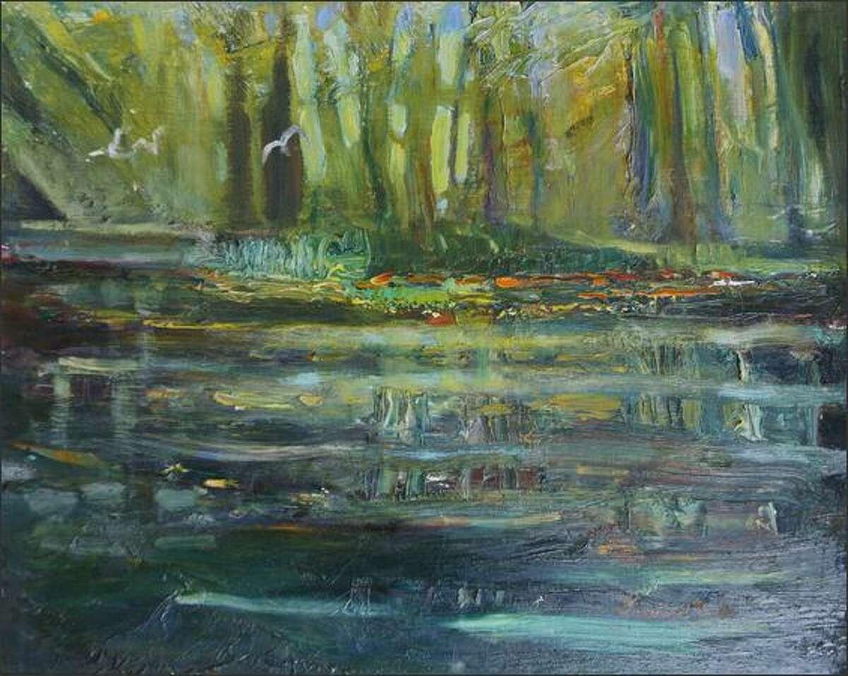 """Tuck's """"Dark Shadows at Cory's Pond"""""""