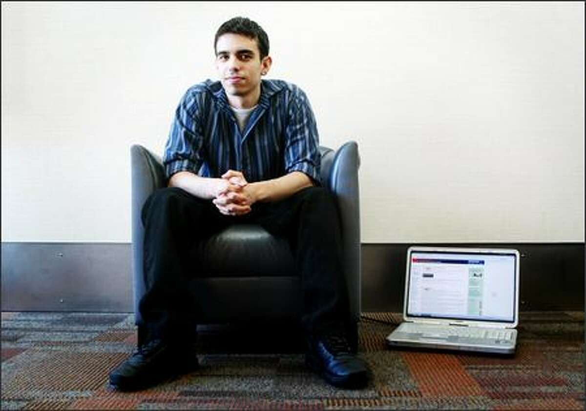 Blake Ross, 21, co-creator of the Firefox Web browser, is working on a secret venture with software developer Joe Hewitt, who he met while working at Netscape.