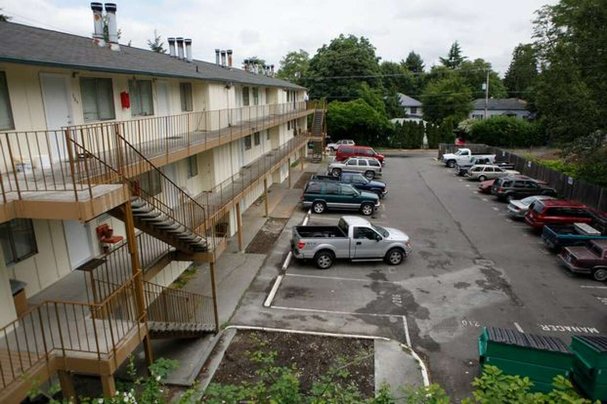 The Creston Park Apartments is located on the Seattle-Tukwila border, in an area with large amounts of gang activity. The Mount Baker Housing Authority recently purchased the property and is currently renovating it both inside and out, and adding a security gate.