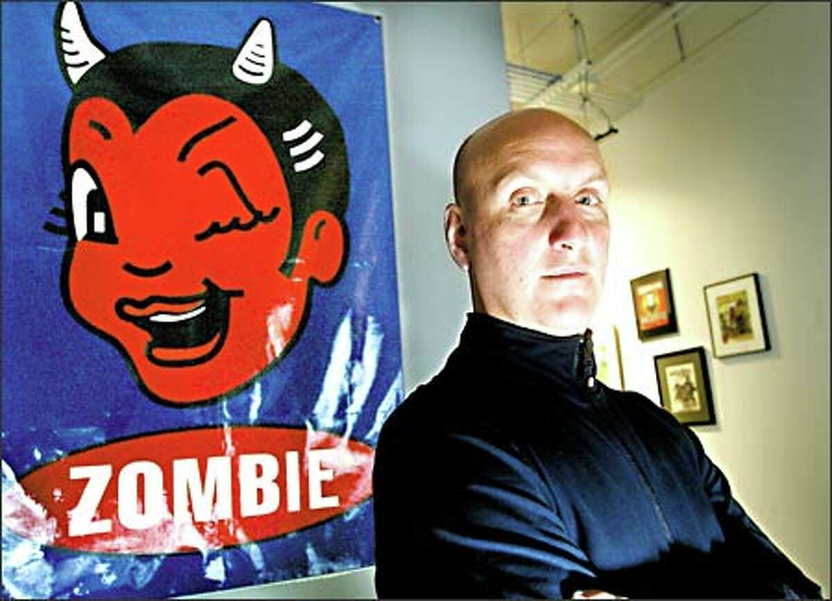 With video game budgets on the rise, Zombie Studios co-founder and co-CEO Mark Long, above, says,