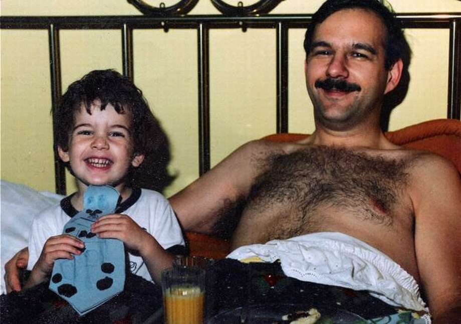 Saul Mark Rosen poses with his 3-year-old son, Scott, on Father's Day, 1987. The following December, Saul would be one of 270 people to die in the bombing of Pan Am Flight 103. (Courtesy of Scott Rosen) Photo: Family Photo / Family Photo