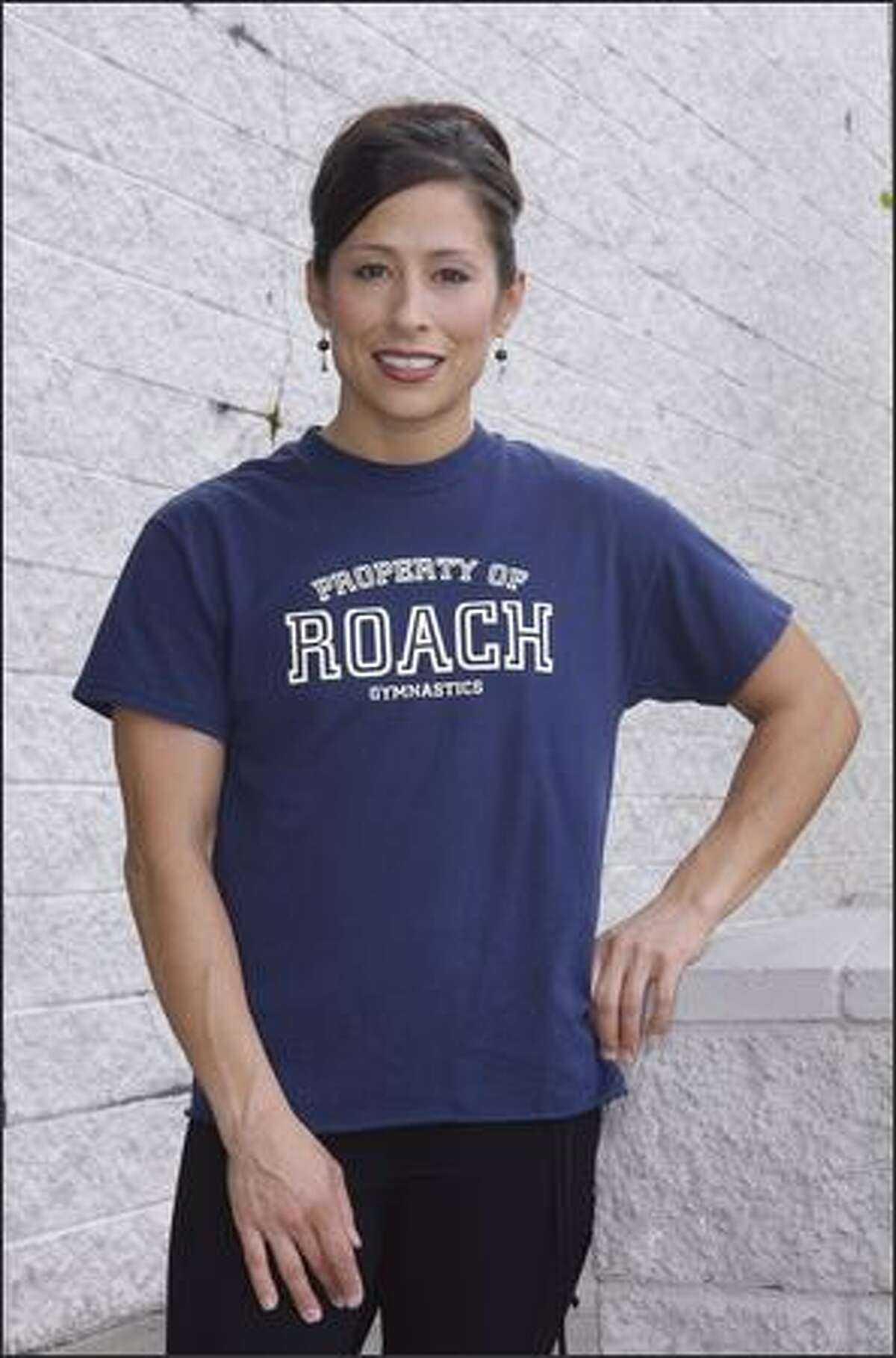 Olympic Weightlifter Melanie Roach.