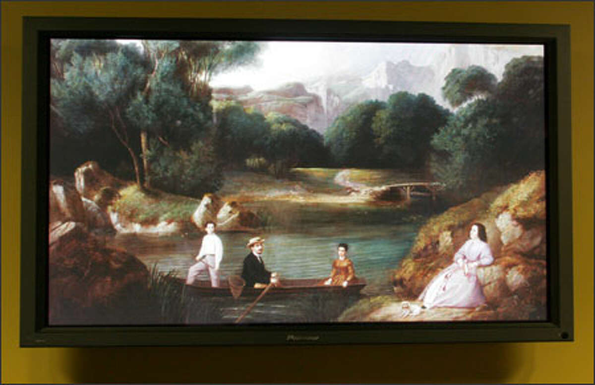 The painting
