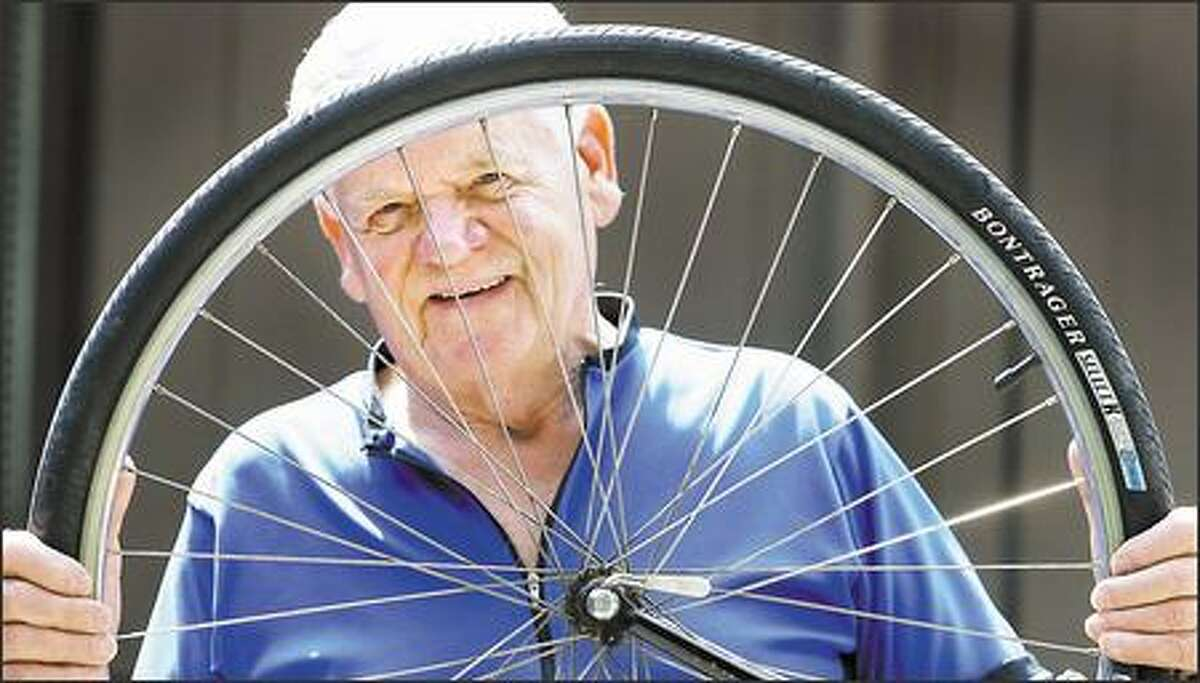 At 81, Karl Petterson is one of the oldest riders in this year's STP, which will be his 12th.