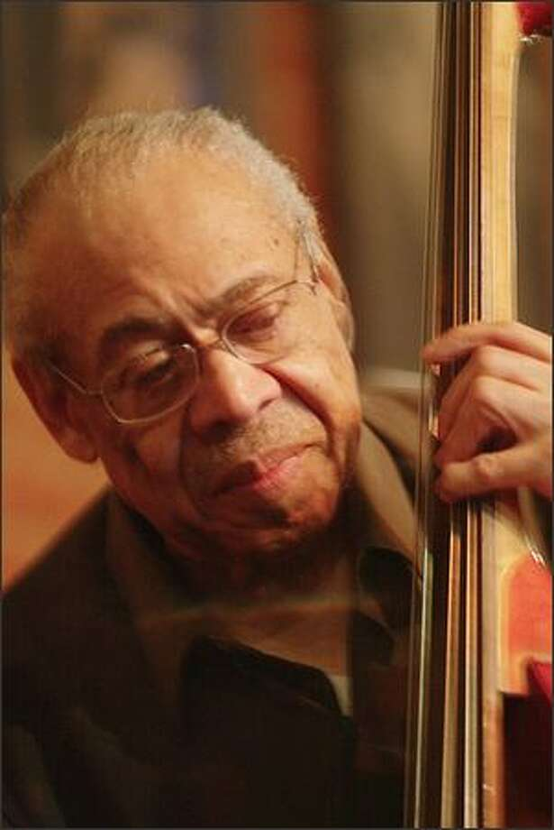 Buddy Catlett has traveled the world with outstanding musicians such as Count Basie, but at 75 calls Seattle home again. Photo: Grant M. Haller, Seattle Post-Intelligencer / Seattle Post-Intelligencer
