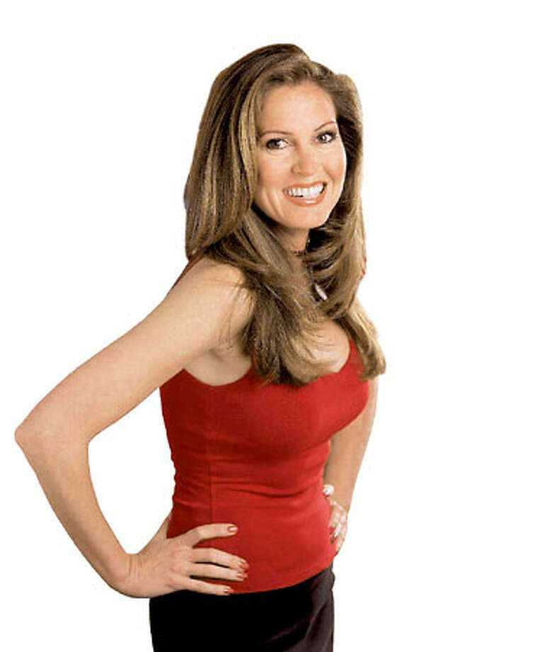 """Fox Sports Net's Lisa Guerrero does about two dozen sports updates a day for """"The Best Damn Sports Show Period."""""""