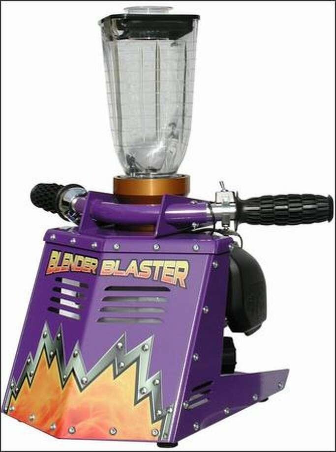 The Blender Blaster