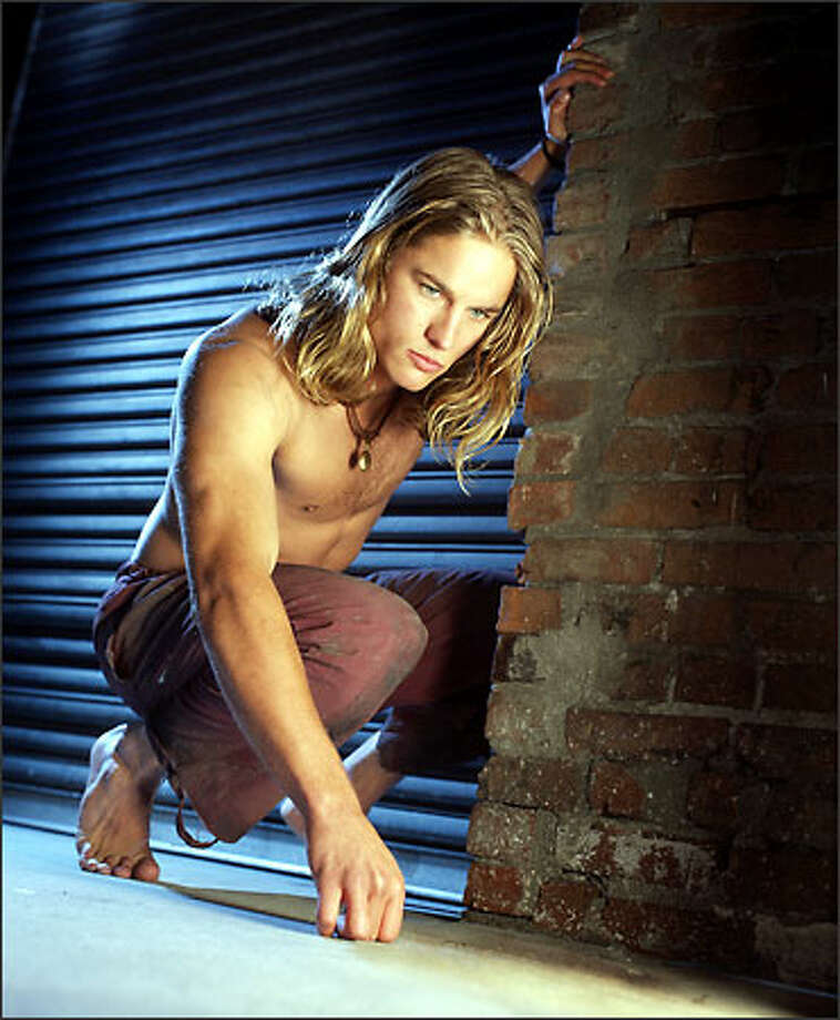 "Travis Fimmel is The WB's ""Tarzan."" Photo: The WB / The WB"