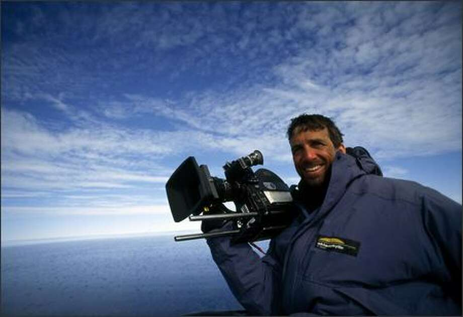 "Vancouver Island filmmaker Adam Ravetch and his wife, Sarah Robertson, shot ""Arctic Tale"" over a 15-year period."