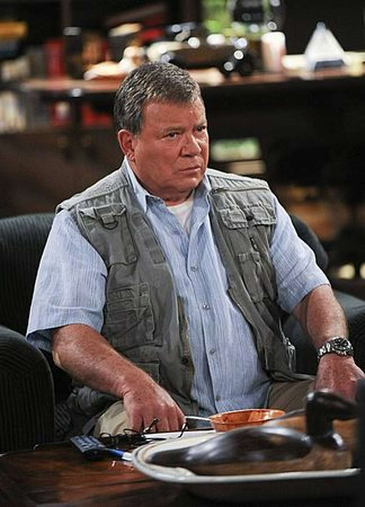 William Shatner gets a new son, or at least a new co-star, on CBS's