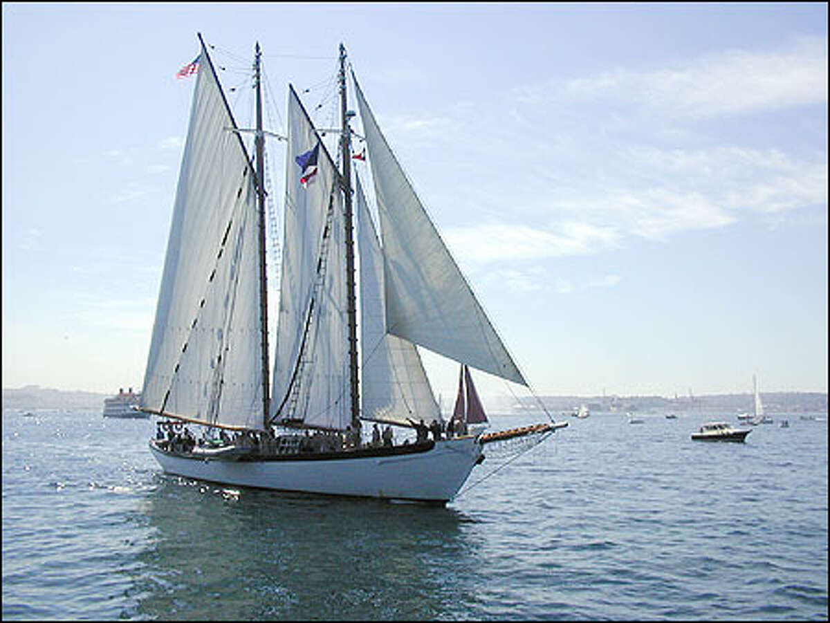 The schooner 'Zodiac.'