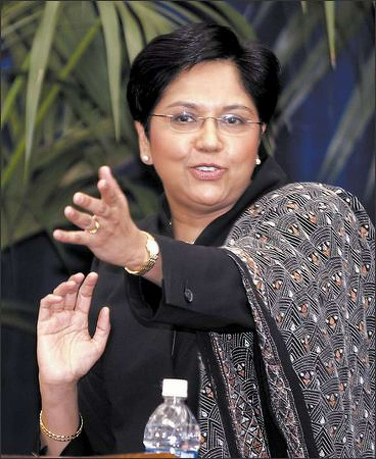 Chief Financial Officer Indra Nooyi has become chief executive of PepsiCo Inc., making her the No. 2 female CEO in the Fortune 500.