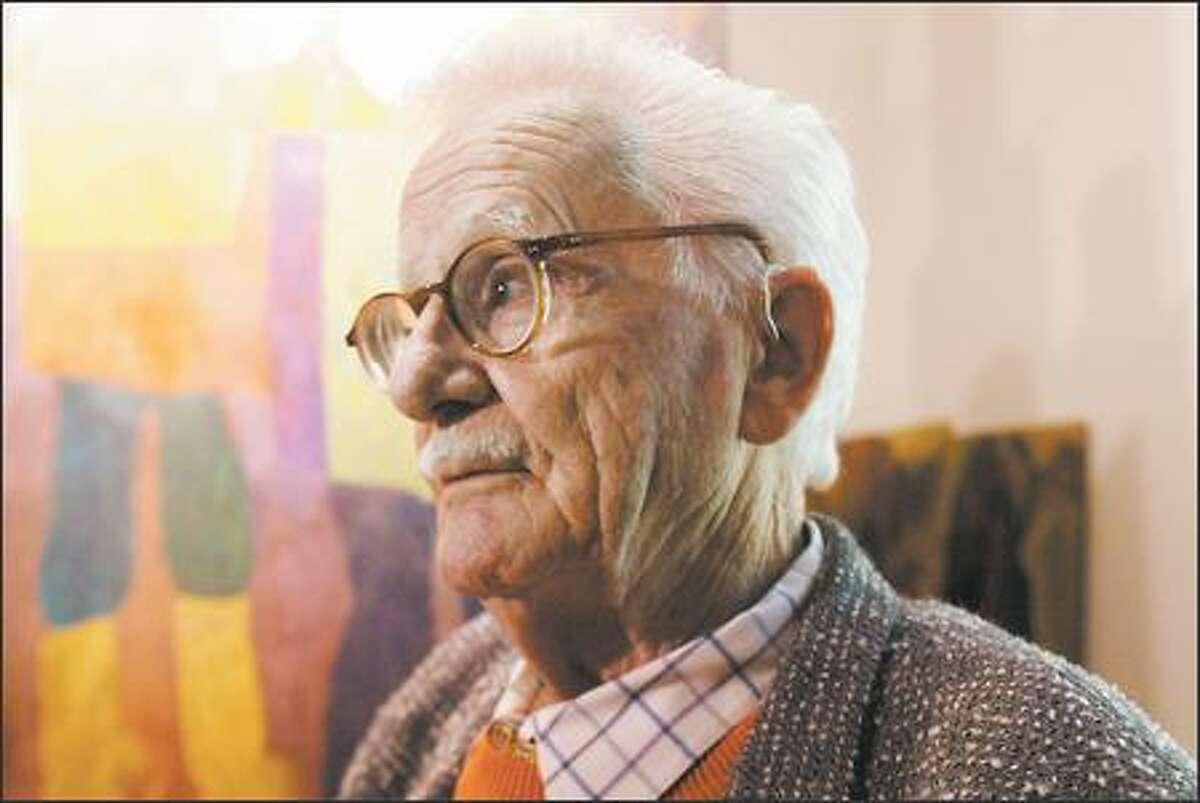 Northwest School painter Bill Cumming, 88, says,