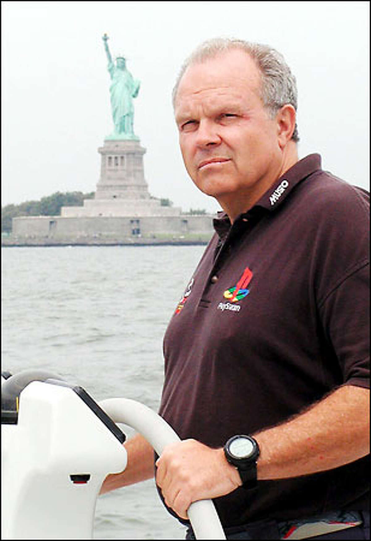 American tycoon Steve Fossett