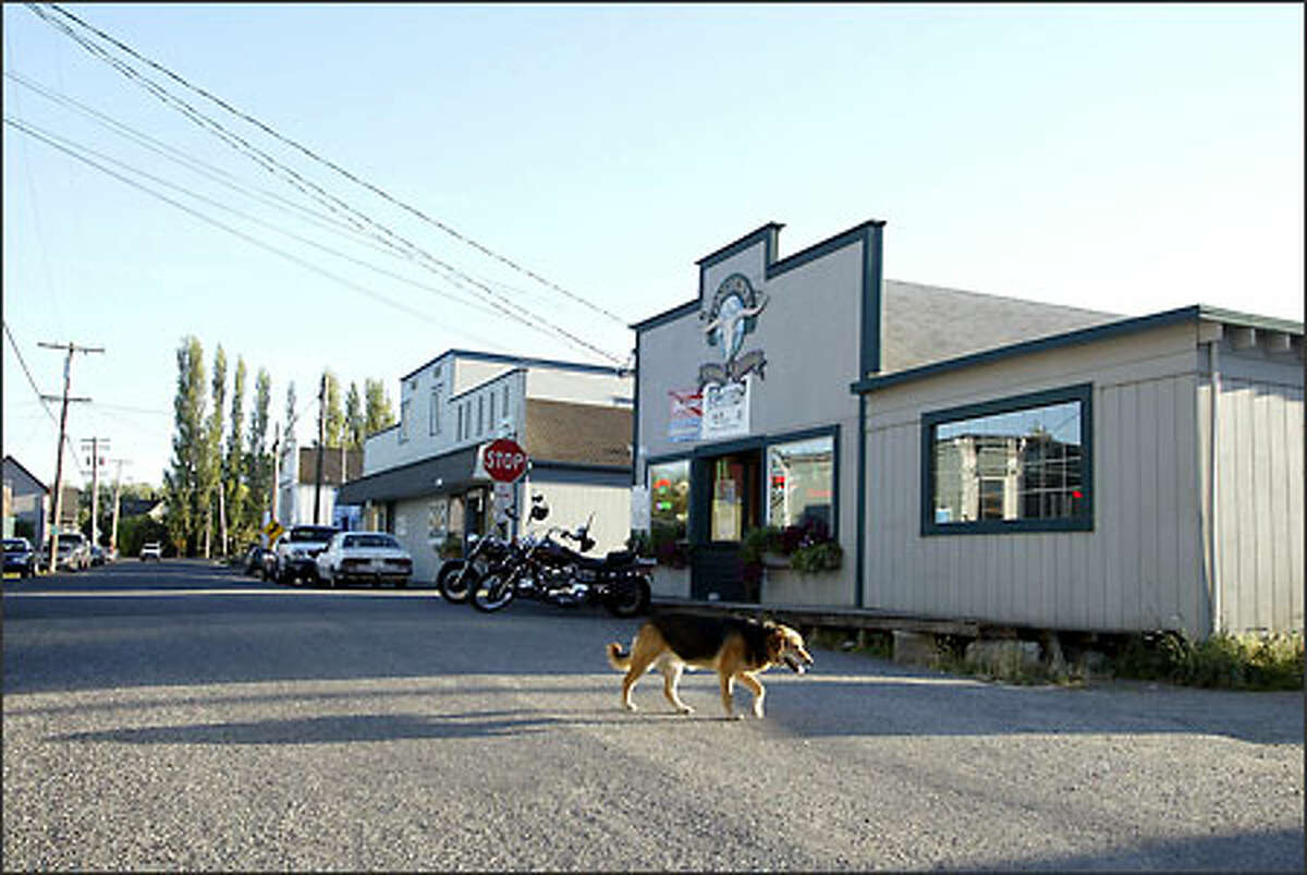 Longhorns Saloon is at the center of a big controversy in tiny Edison, a town of 150 in Skagit County. The building has housed a bar for about a century, but some residents have seen changes since Steve Mains bought it in 2000