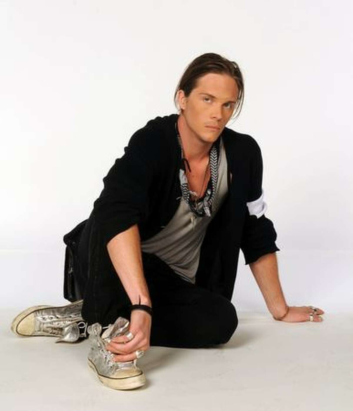 """Seattle designer Logan Neitzel in a publicity shot for the sixth season of """"Project Runway."""""""
