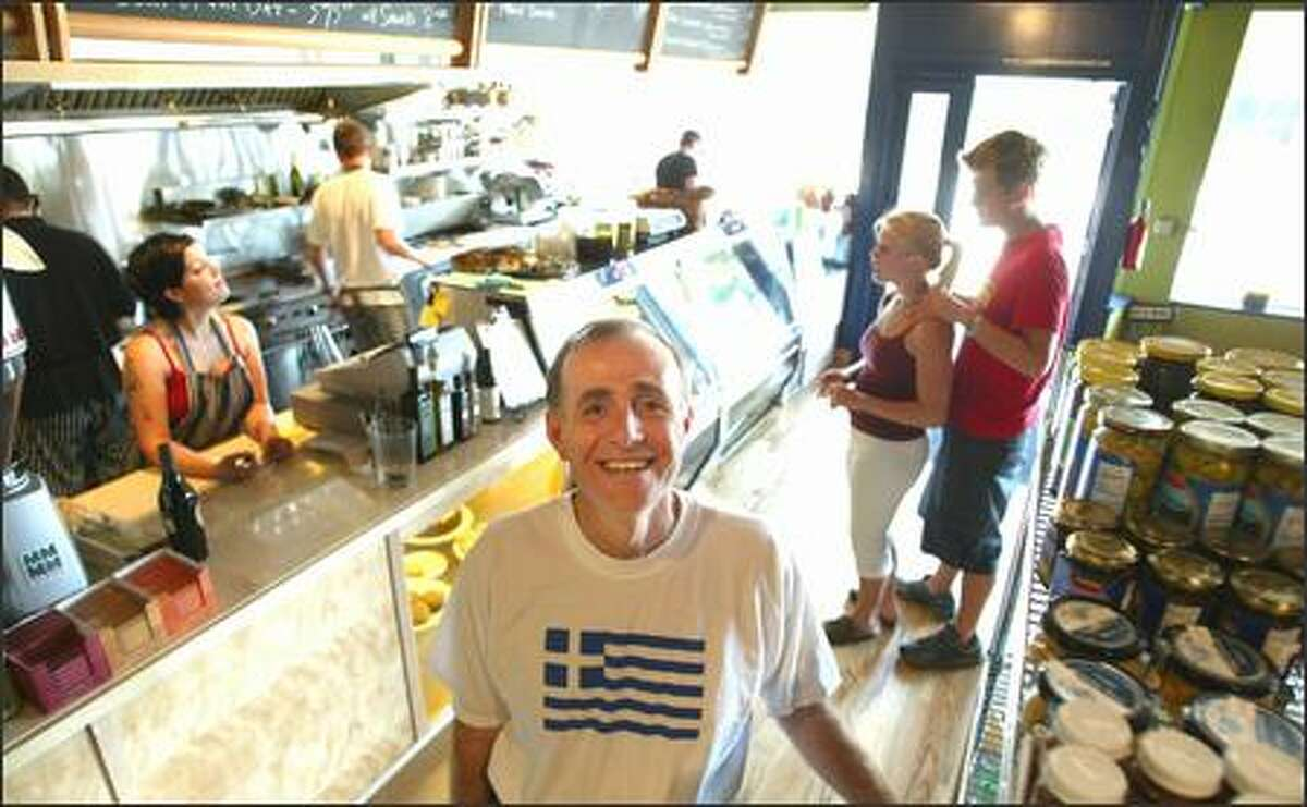 Tomas Soukakos owns and operates Vios Cafe & Marketplace on Capitol Hill.