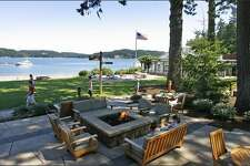Enjoy Hood Canal by boat or soak in the views from the Alderbrook Resort & Spa.