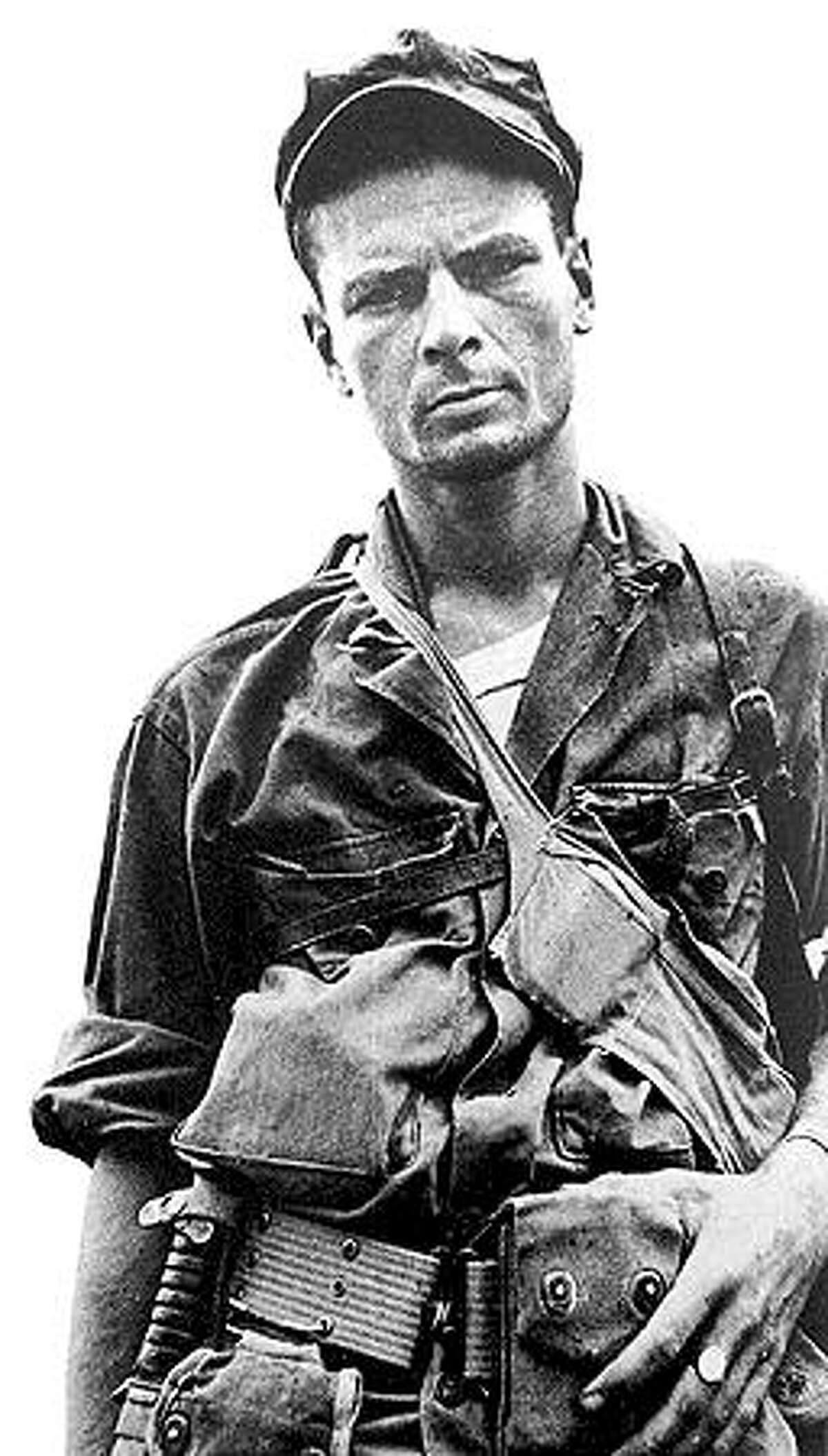 U.S. Army Ranger Robert Prince in 1945