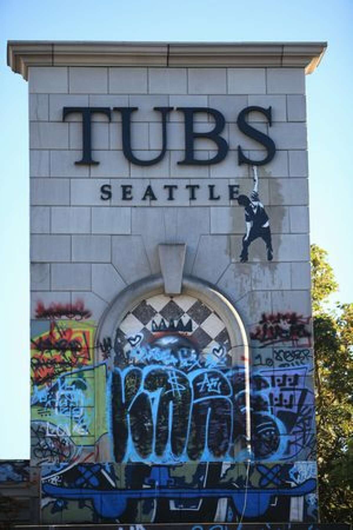 The former Tubs building at the corner of 50th and Roosevelt in the University District.