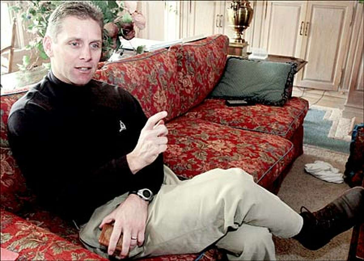 Oklahoma Congressman Steve Largent envisioned himself running for governor in 2001. He resigned his House seat after 3 1/2 terms.