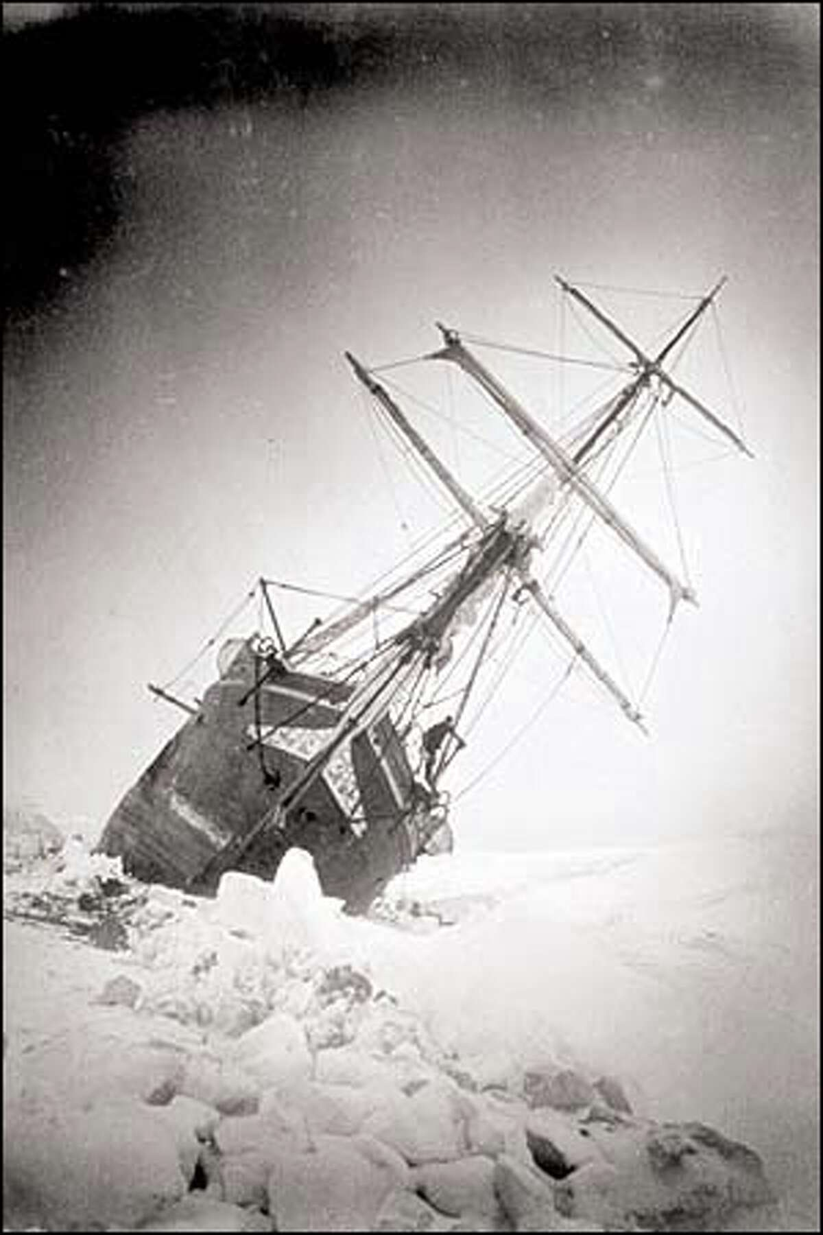 The Endurance keels over in pack ice and was later crushed by ice pressure. The expedition became a testament to human endurance and heroism. All 28 crew members survived almost two years in the frigid Antarctic before they were rescued by Shackleton.