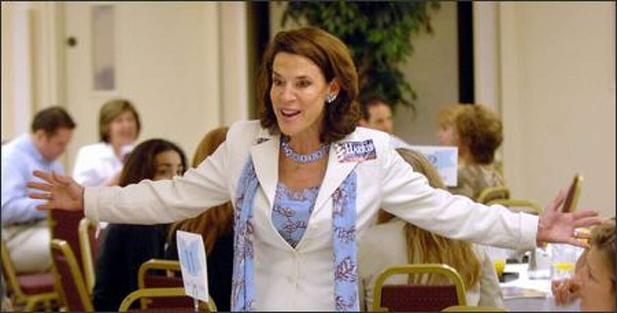 Republican Senate candidate Katherine Harris, shown campaigning recently in Orlando, Fla., is seen as an embarrassment by party officials and former members of her campaign staff.
