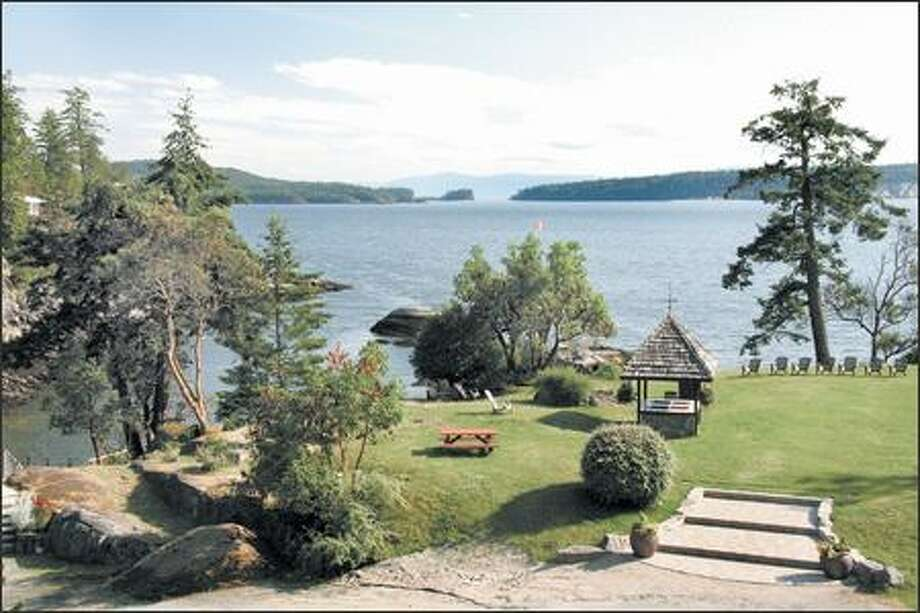 Rockwater Secret Cove Resort is perched on the waterfront where guests can take advantage of kayaking, hiking and feasts on the beach. Photo: Janice Mucalov, Special To The Seattle Post-Intelligencer / Special to the Seattle Post-Intelligencer