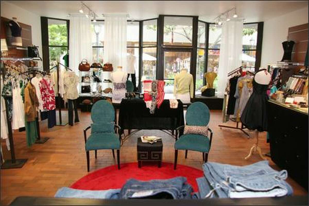 Stephanie Duryea says it is a challenge to compete with major retail chains, but says Rouge has carved out a niche. (Katie Eldridge/Panic Button Media)