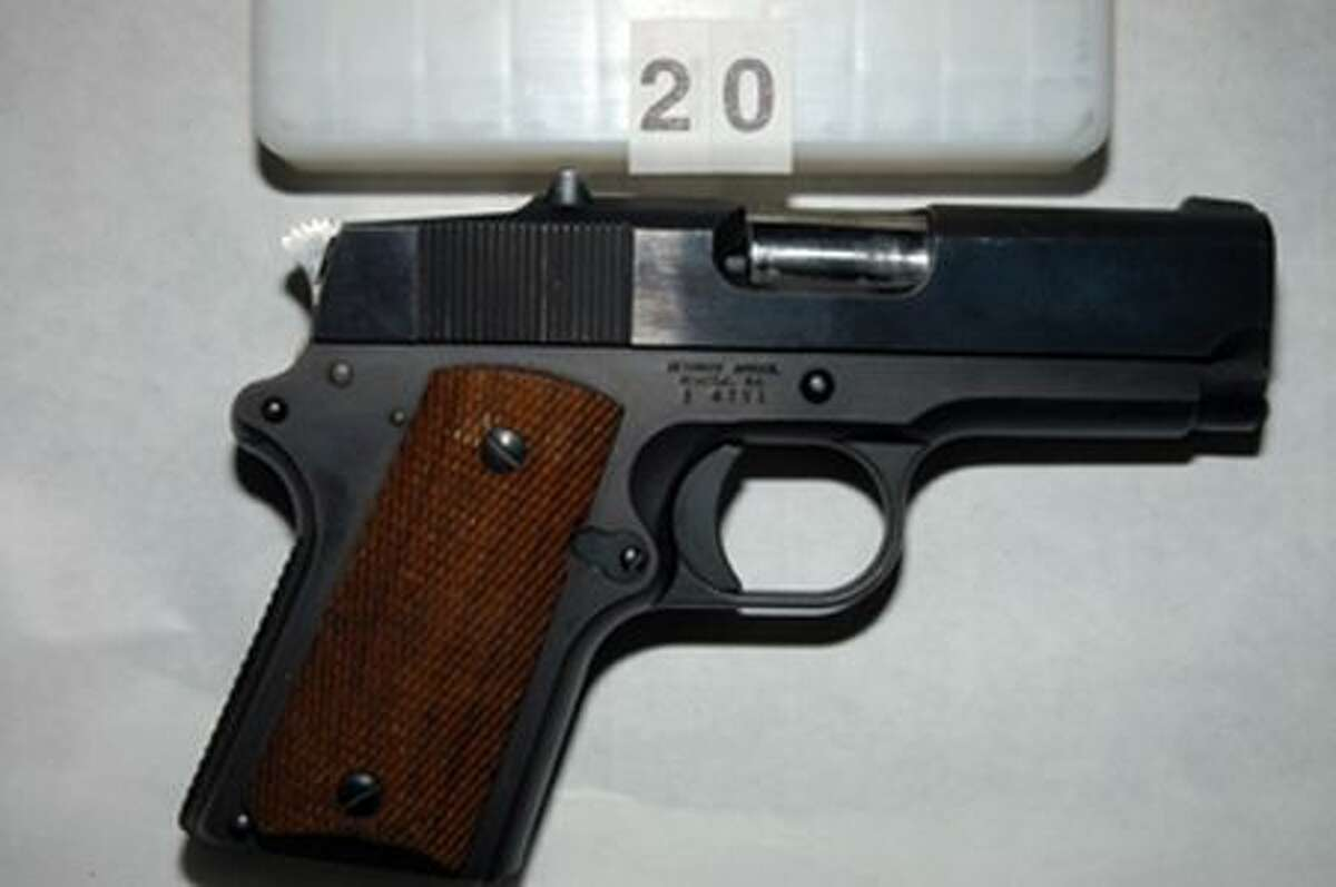 Police say Thomas J. Qualls also had this handgun on his person when he was shot by officers Friday, Sept. 3, 2010, in West Seattle. (Seattle Police Department photo)