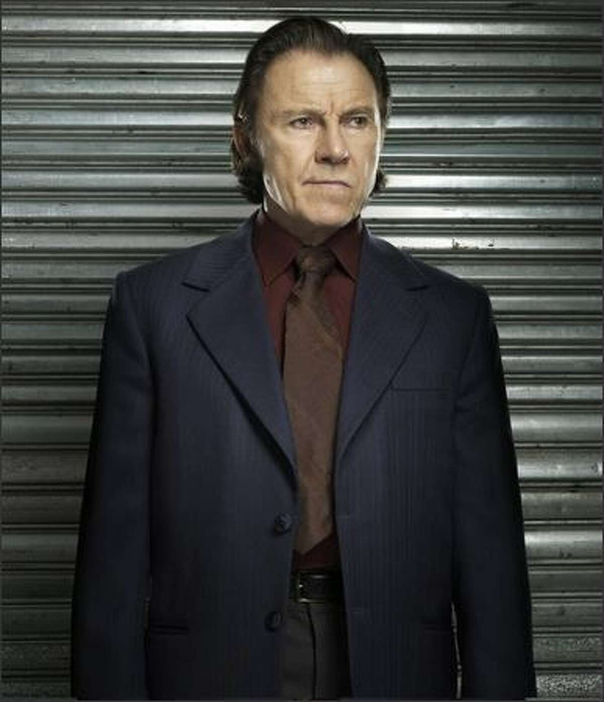 Harvey Keitel stars as Lieutenant Gene Hunt on the ABC show
