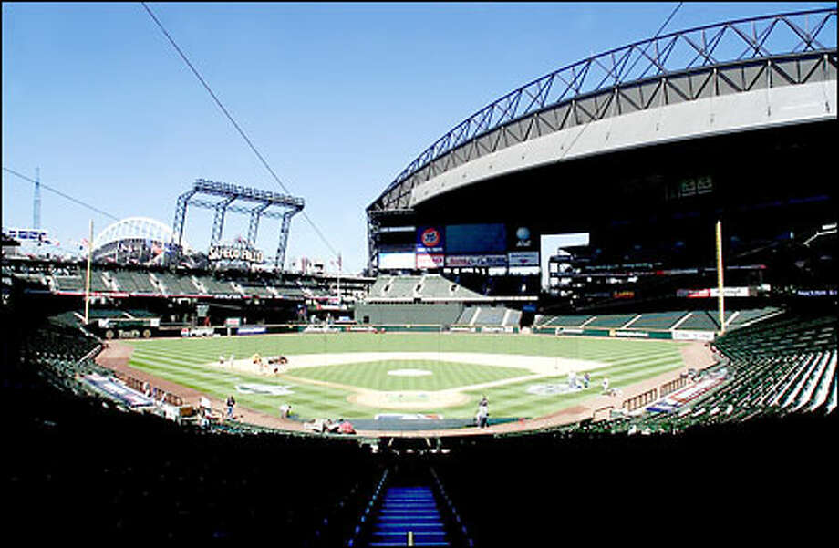 More than 3 million baseball fans have passed through Safeco Field's turnstiles this season. As a result of terrorist attacks on Tuesday, that number will not grow this weekend. Photo: Seattle Post-Intelligencer / Seattle Post-Intelligencer