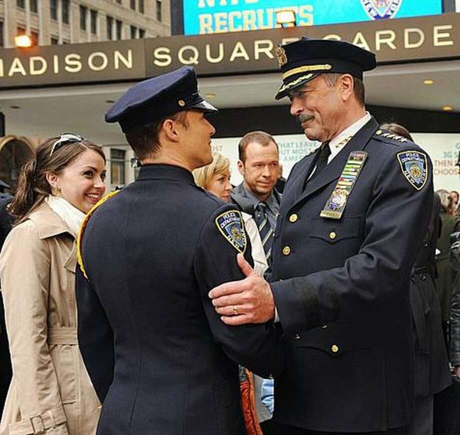 """Tom Selleck (right) of """"Blue Bloods"""" is among Friday's new big-name stars."""