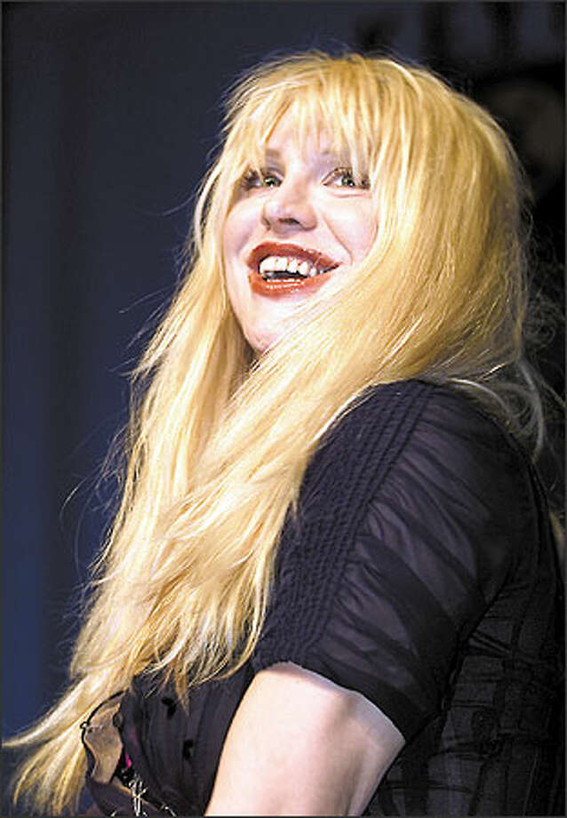 For 24 straight hours, the rock diva Courtney Love will be in control of the music network MTV2. She'll play the videos she likes, invite her friends over for an on-camera jab fest and do whatever else she pleases, the network said Monday. Photo: Associated Press / Associated Press
