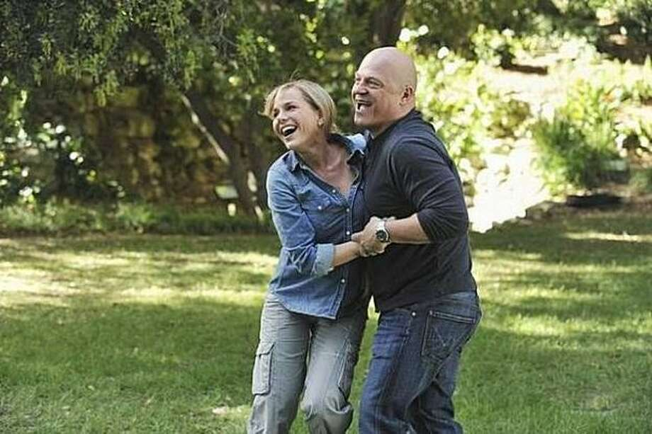 "Jim (Michael Chiklis, ""The Shield"") and his wife, Stephanie, (Julie Benz, ""Dexter"") gain super powers on a trip to the Amazon in ABC's ""No Ordinary Family."" Photo: ABC / ABC"