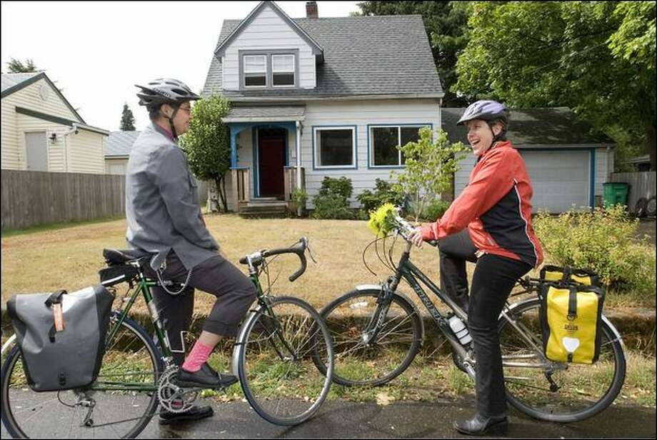 3. Portland, Ore.: Renting is 63 percent of the cost of owning, above the historical level of 51 percent and the tipping point of 54 percent.  If you're looking to buy, you can do it with your real estate agent by bike. Photo: Associated Press / Associated Press
