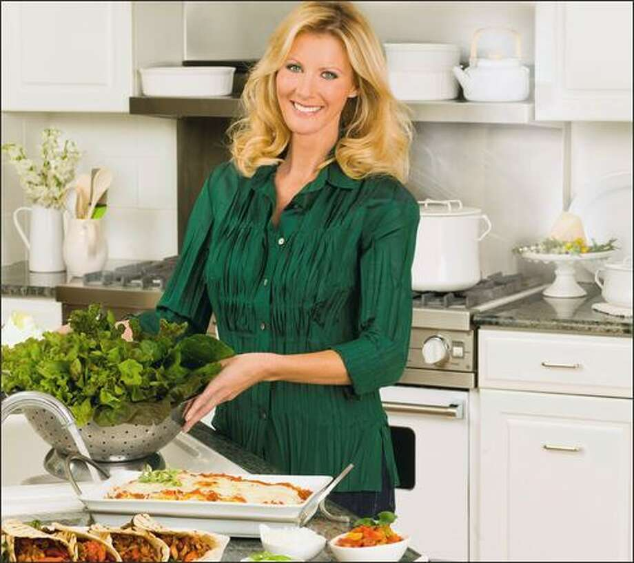 Cookbook author Sandra Lee will be at University Book Store on Oct. 22.