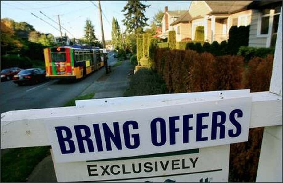 Seattle's housing market is among the hottest in the nation, but some worry it -- and the whole nation -- may be experiencing a bubble, again. Photo: Dan DeLong, Seattle Post-Intelligencer / Seattle Post-Intelligencer