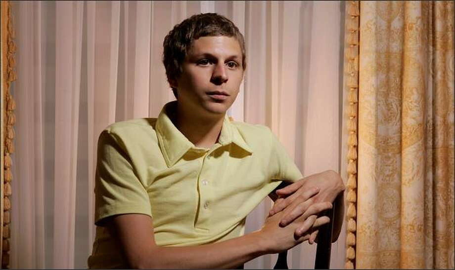 The go-to guy to play geeky kids, Michael Cera is facing the next stage in his career. Photo: Associated Press / Associated Press