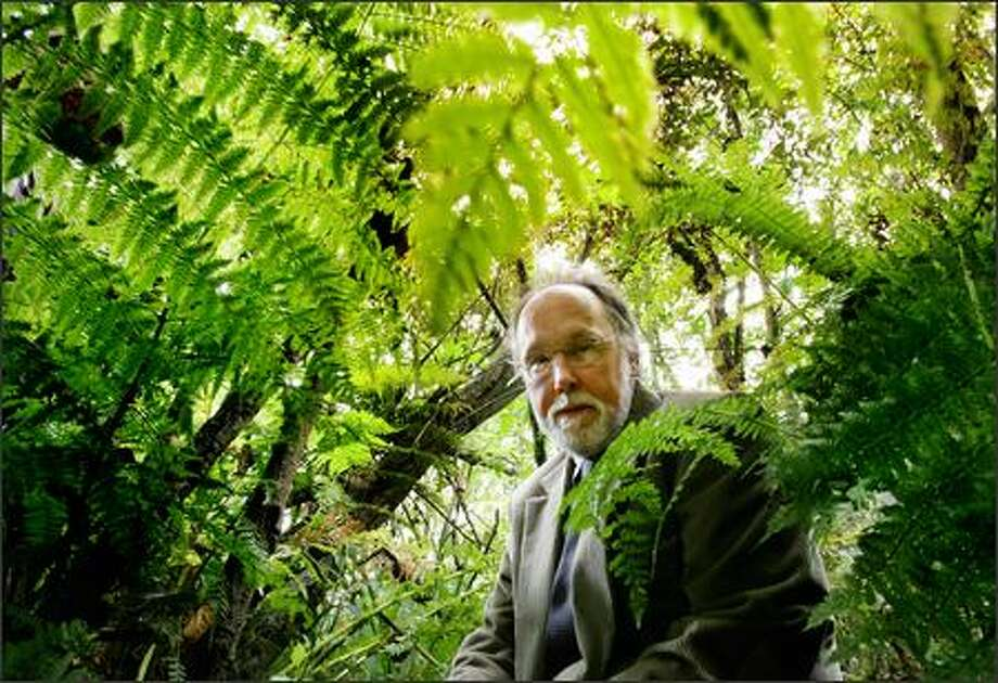 "Much-honored nature writer Barry Lopez got contributions from 45 writers for his new book on the language of the American landscape, ""Home Ground."" Photo: Dan DeLong, Seattle Post-Intelligencer / Seattle Post-Intelligencer"