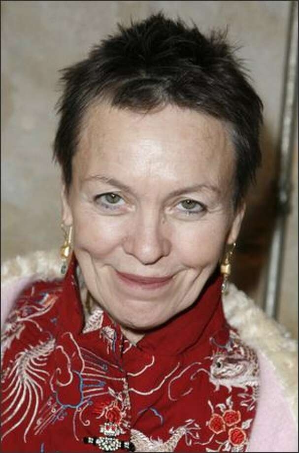 Performance artist Laurie Anderson will appear at the Moore Theatre on Thursday. Photo: Getty Images / Getty Images