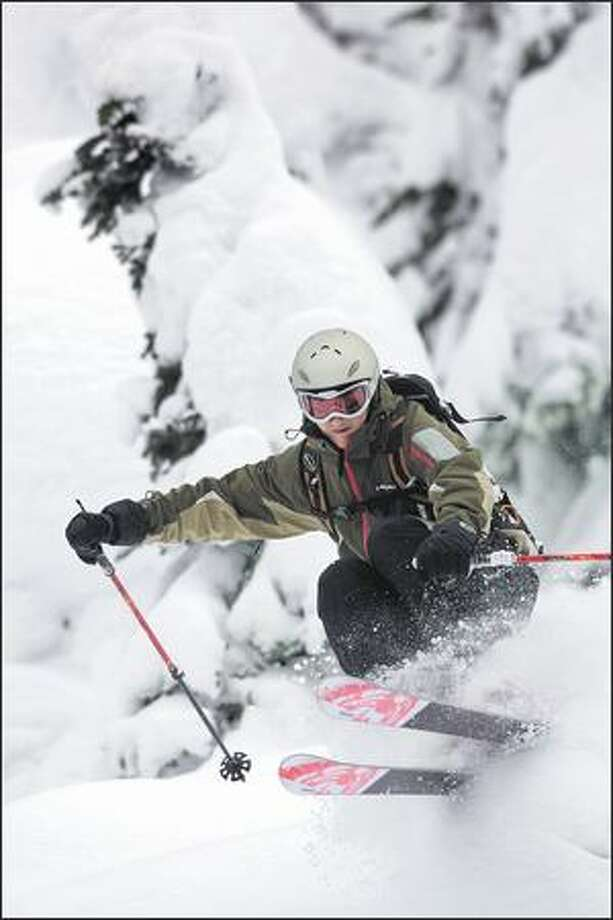 Outside magazine rates the Head Monster 88 as an alpine ski, but Ski magazine considers it a free-ride plank. (HEAD USA)