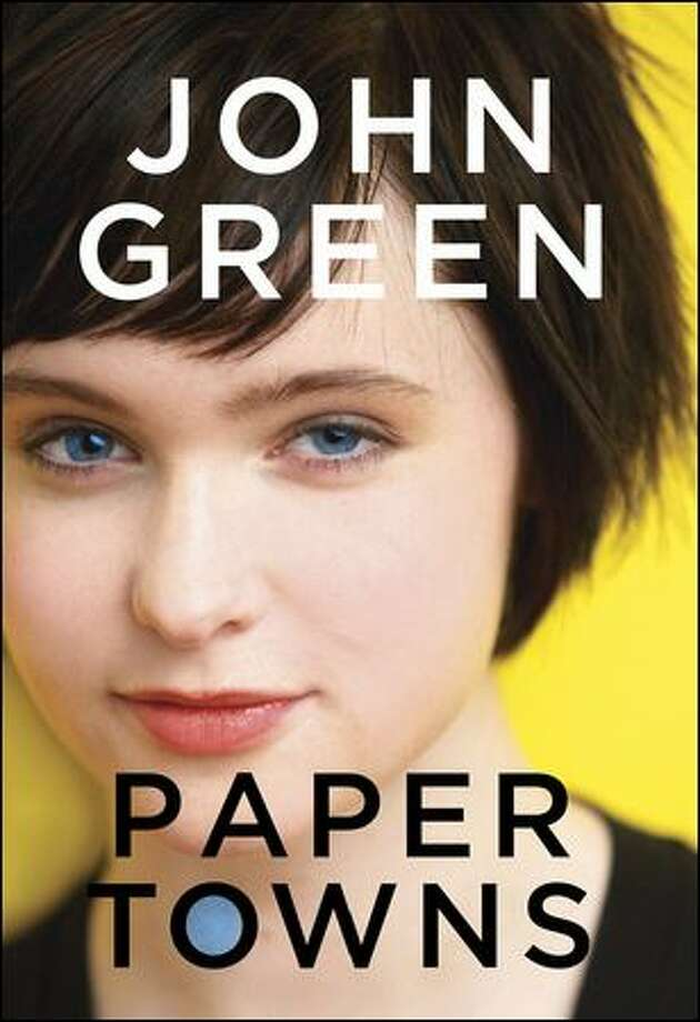 "John Green's latest, ""Paper Towns,"" comes in two different covers."