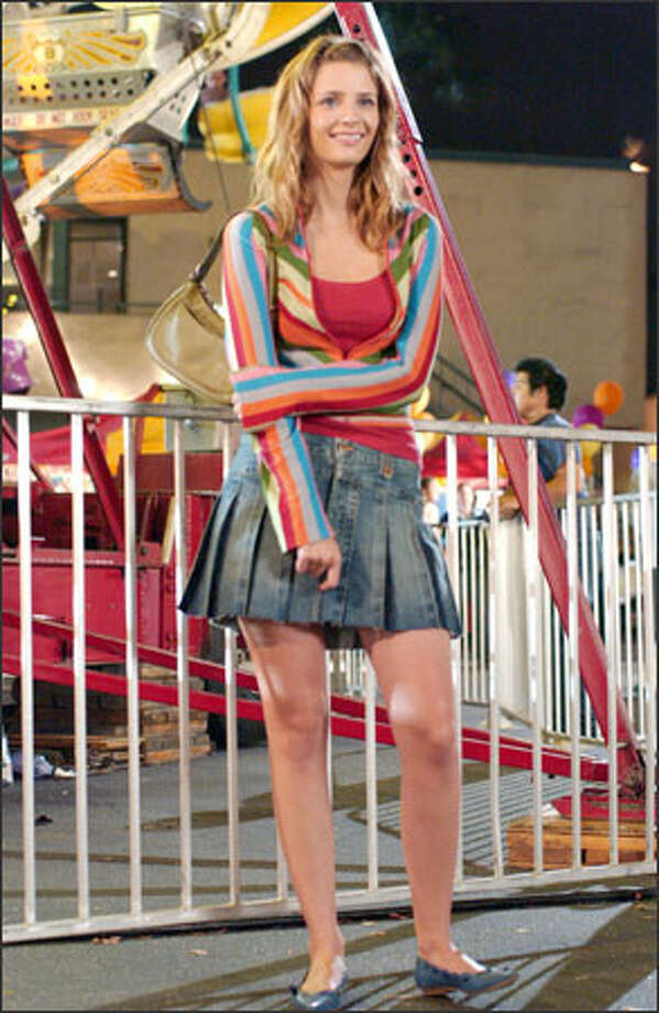 "Marissa (Mischa Barton), whose wardrobe consists almost exclusively of miniskirts, is ""The O.C.'s"" primary fashion force. Photo: Fox / Fox"