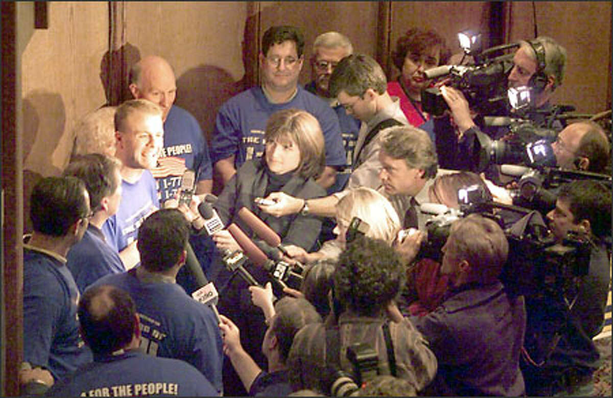 The most dangerous place to be in Washington is between Tim Eyman and a TV camera. The for-profit initiative promoter loves the limelight and is to anti-tax sound bites what Itzhak Perlman is to the violin.