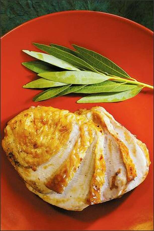 If you're serving a small group for the holiday, a roasted turkey breast may be just right for you. Photo: Dan DeLong, Seattle Post-Intelligencer / Seattle Post-Intelligencer