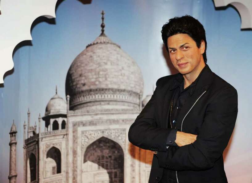 Shah Rukh Khan at a Bollywood exhibit in New York.