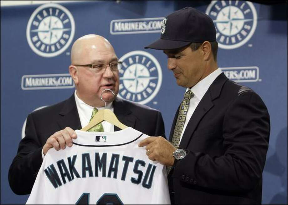 The Mariners then made Don Wakamatsu the first Asian-American manager on Major League Baseball history. The Mariners won 85 games and lost 77 in 2009. Photo: Associated Press / Associated Press